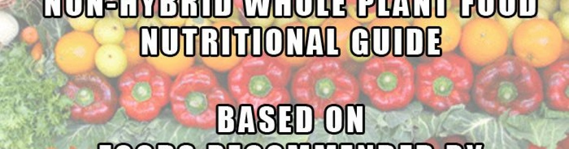 Dr. Sebi's NOT Approved Foods Guide, These Foods Are Considered To Be Unnatural