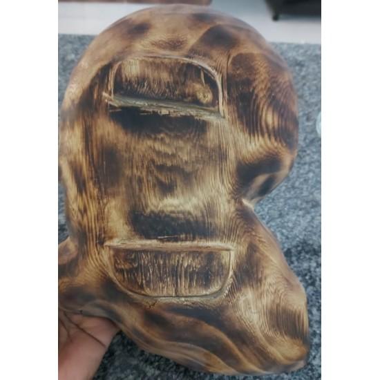 African Wooden Shape Alkaline Vegan Eating Bowl From Kenya
