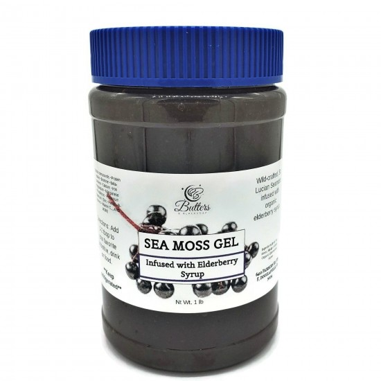 Elderberry Sea Moss Gel- Dr. Sebi Recommended