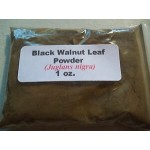 Black Walnut Leaf Powder (Juglans nigra) 1 oz.