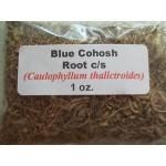 Blue Cohosh Root c/s (Caulopylum thalictroides) 1 oz.