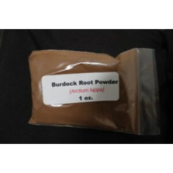 Burdock Root Powder (Arctium lappa) 1 oz.