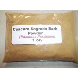 Cascara Sagrada Bark Powder (Rhamnus purshiana) 28g