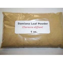 Damiana Leaf Powder (Turnera diffusa) 28g