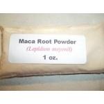 1 oz. Maca root powder (Lepidum mayenil)