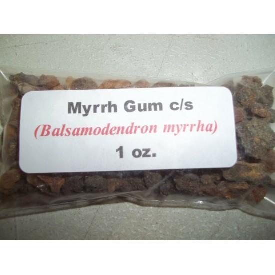 Myrrh Gum Resin Herb & Oak Bark Powder (Balsamodendron myrrha)- Dr. Sebi TOOTH POWDER To Brush Teeth 1 oz. Each