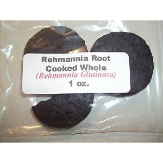 Rehmannia Root Cooked (Rehmania glutinosa) 1 oz.