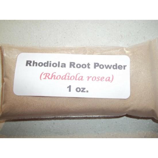 1 oz. Rhodiola root powder (Rhodiola rosea)