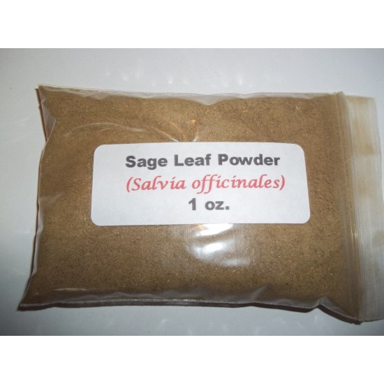 Sage leaf powder (Salvia officinales) (Salvia officinalis) 28g