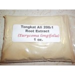 Tongkat Ali 200:1 Root Extract Powder 1 oz.  Erectile Dysfunction and Low Libido