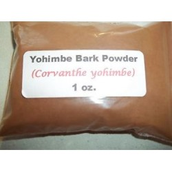 Yohimbe Bark Powder (Corvanthe yohimbe) 25g
