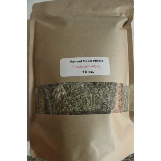 16 oz. Fennel Seed, Whole (Foeniculum vulgare)