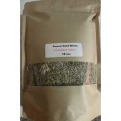 16 oz. Fennel Seed, Whole (Foeniculum vulgare)
