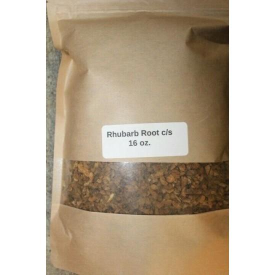 16 oz. Rhubarb Root C/S (Rheum palmatum)