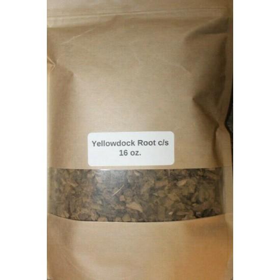 16 oz. Yellowdock Root c/s (Rumex crispus)