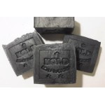 Activated Charcoal Soap - Unscented - Large Bar