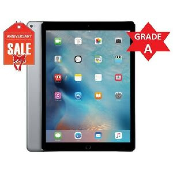 Apple iPad Pro 9.7in (32GB Wi-Fi + 4G - Space Grey) 2016 Model - Unlocked- Ship Only To The US