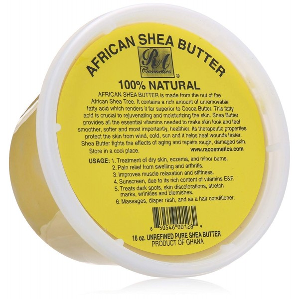 African Shea Butter 100% Natural 16oz
