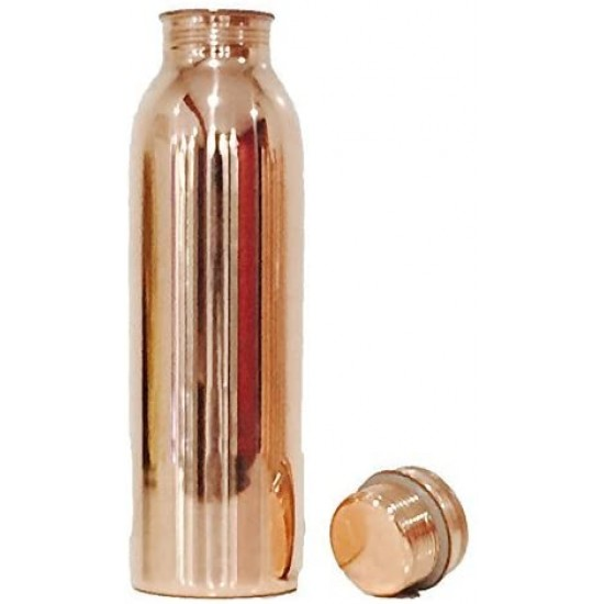 100% Pure & Leak Proof,Pure Copper Water Bottle for Ayurvedic Health Benefits