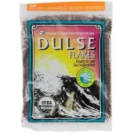 Dulse Flakes - Certified Organic- Sea Vegetables, washed, Pure Alkaline Vegan- Maine 4oz