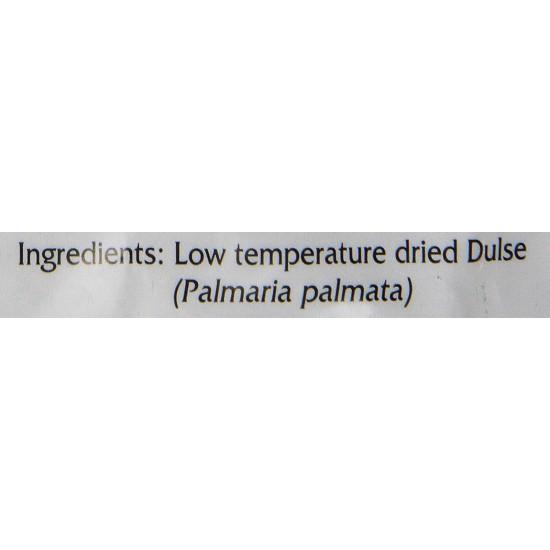 Dulse Flakes - Certified Organic- Sea Vegetables, washed, Pure Alkaline Vegan- Maine 4oz