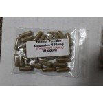 Fennel powder capsules (Foeniculum vulgare) 480mg - 30 count