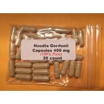 Hoodia Gordonii Capsules (100% Pure)  400mg   30 count