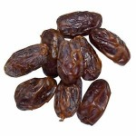 Dates Medjool - Premium Quality, Large Size, Fat-Free, Cholesterol Free, Sodium Free, High in Potassium, Grown in Israel