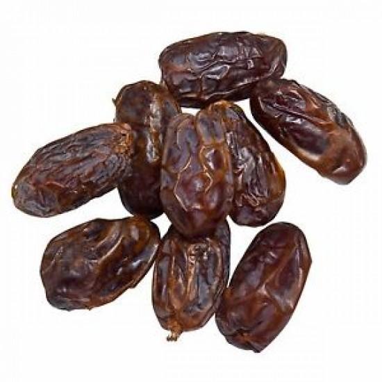 Dates Medjool - Premium Quality, Large Size, Fat-Free, Cholesterol Free, Sodium Free, High in Potassium, Grown in Israel
