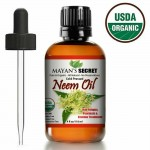 NEEM OIL USDA CERTIFIED ORGANIC UNREFINED CONCENTRATE COLD PRESSED RAW PURE 4 OZ