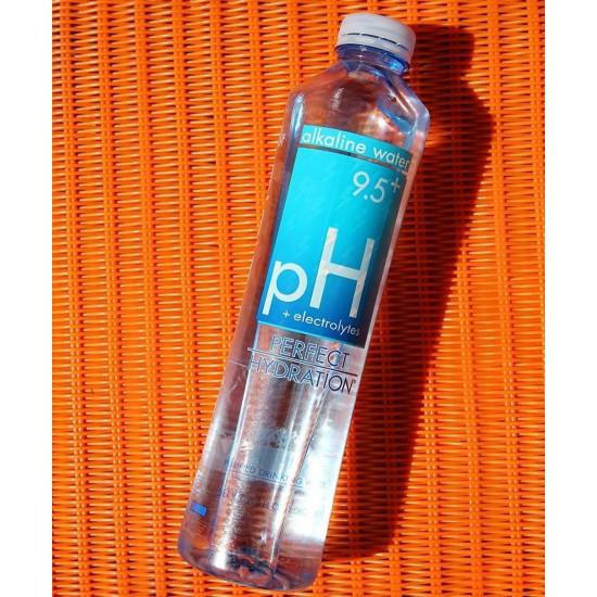 Perfect Hydration Alkaline Electrolyte Enhanced Water, 9.5+ pH | | No Added Sodium, Chlorine, Fluorine, 20 fl. Oz. (24 Pack)