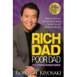 Rich Dad Poor Dad byRobert T. Kiyosaki Brand New Paperback