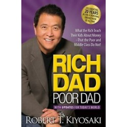 Rich Dad Poor Dad by Robert T. Kiyosaki Brand New Paperback