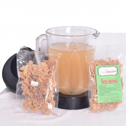 Sea Moss Irish Moss Dried (Dr. Sebi Recommended) 100% Wildcrafted- From The Pacific Ocean 1 3oz Pack