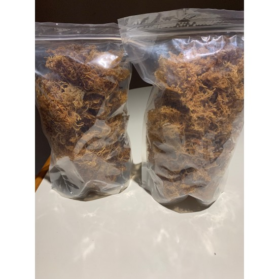 1lbs Sea Moss Irish Moss Dried (Dr. Sebi Recommended) 100% Wildcrafted- From The Caribbean Island 16oz