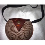Luxury  Calabash handbag/purse carved Style Unique Handamde Fresh From Jamaica