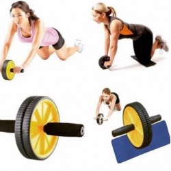 ABS MASTER DUAL WHEEL POWER ROLLER Body Workout Exerciser Abdominal Core Muscle- Fitness for Body Building Home Gym