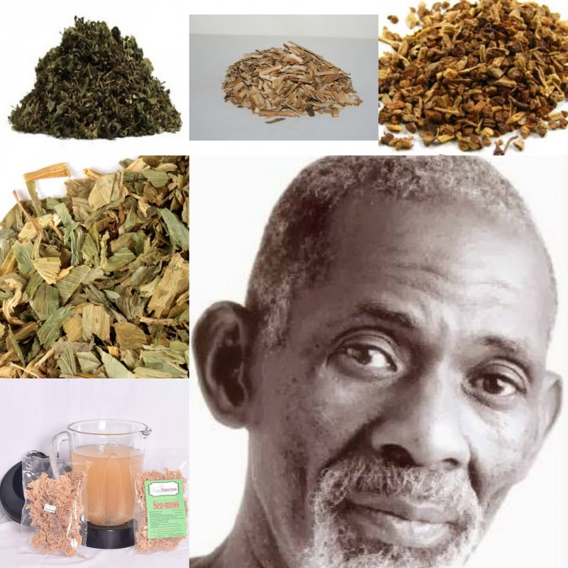 Herbs High in Iron Fluorine/Potassium Phosphate (Sickle Cell