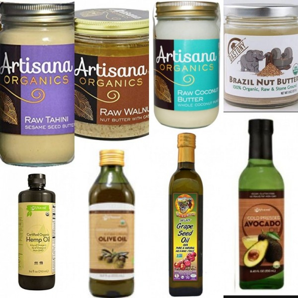 Dr. Sebi Approved Organic Oils & Butters Combo Package-Brazil-Nut, Sesame, Hemp, Virgin-Olive, Avocado- Brazil-Nut-Butter, Walnut-Nut,  Coconut, Sesame-Seed