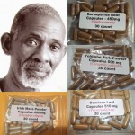 Alpha Male Natural Testosterone Booster Package (Dr. Sebi Approved) - Erectile Dysfunction and Low Libido