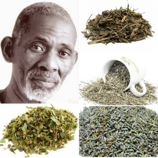 """Brain and Nerve Support Combo Package (Dr. Sebi Approved Herbs) Address (ADD) & (ADHD) Similar To Dr. Sebi's """"Banju"""