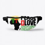 Peace And Love African Family Pouch