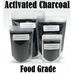 Activated Charcoal Hardwood Powder Organic 100% Natural Food Grade Bulk Teeth Whitening 4 oz.