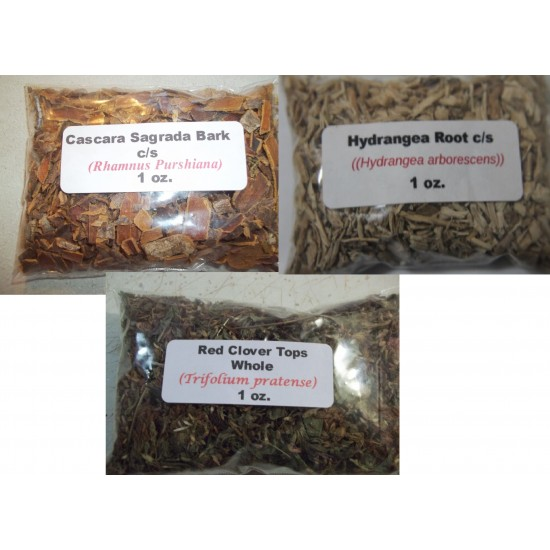Acid, Mucus, Toxin & lymphatic System Cleanser Package Herbs (Dr. Sebi Approved Herbs)