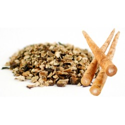 Burdock Root Cut & Sifted, Certified Organic - 1 lb