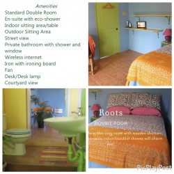 Down Payment for Roots Room Alkaline Plant-Based Healing & Vacation Retreat