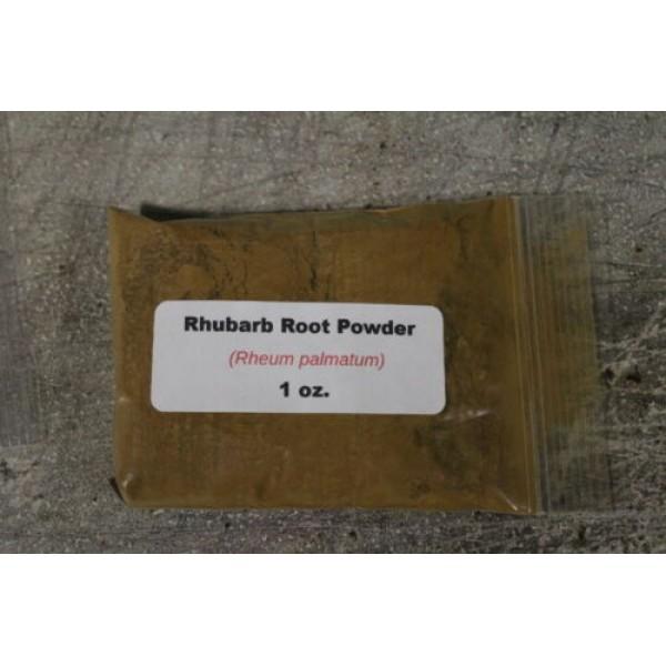 Rhubarb Root Powder (Rheum palmatum) 1oz/16oz
