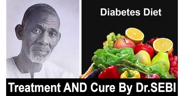 THE DR  SEBI DIABETES CURE